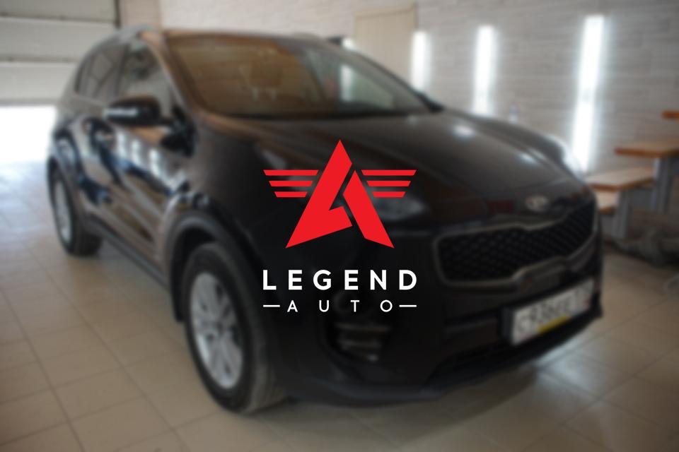 Автозвук — Kia Sportage