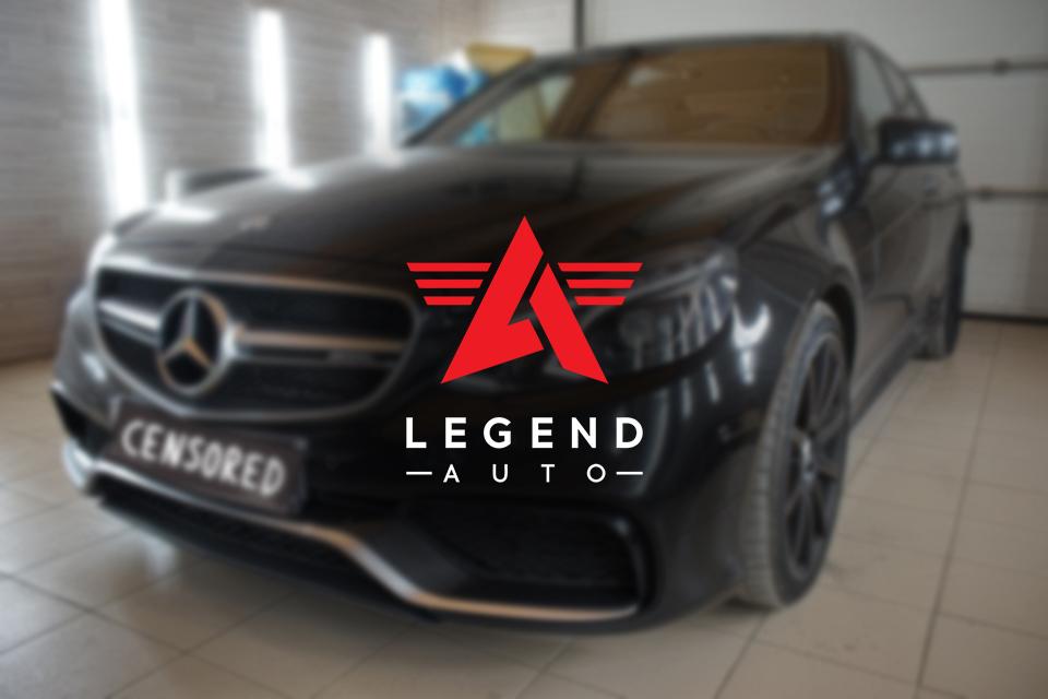 Автозвук — Mercedes E63 AMG